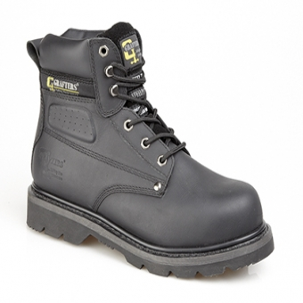 Grafter Saftey Steel Toe Boot Black