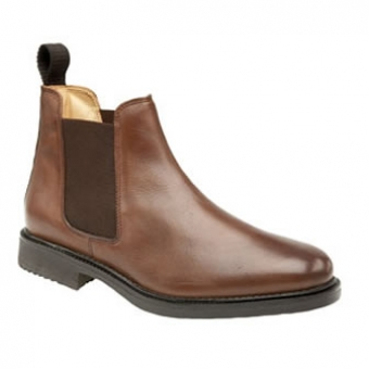 M278B Brown Gusset Boot