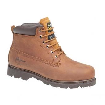 M30B 6 Eye Padded Brown Boots