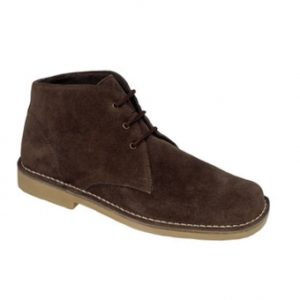 M378DBS Dark Brown Suede Desert Boots