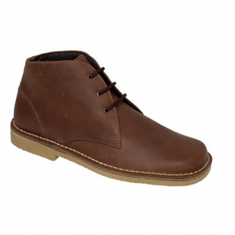 M378GB Waxy Brown Leather Desert Boots