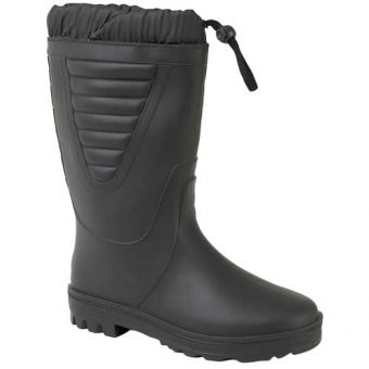 W226a Stormwell Black Warm Lined Wellington boots