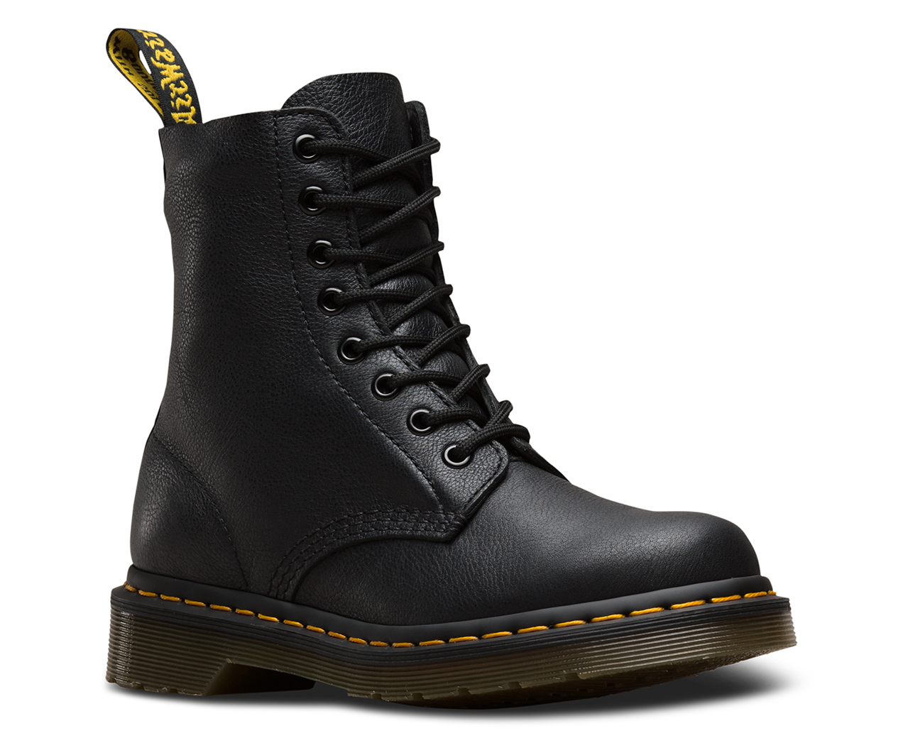 Dr Martens Pascal 1460z Black Virginia Soft Leather Boot