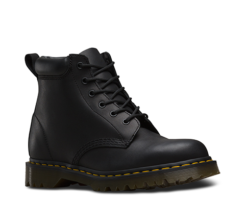 Dr Martens 939 Black Greasy Leather Ben Boot Shoe Shuffle