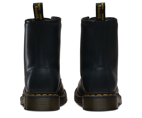 43 DR. MARTENS 1460 8 Eye Leather Boots Navy Mens Sz 8UK 7