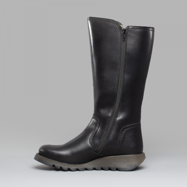 db4ab71eed2 fly-london-shap059fly-ladies-leather-mid-calf-wedge-boots-black ...