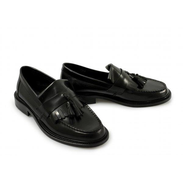 Ikon Ladies Selecta Black Loafers
